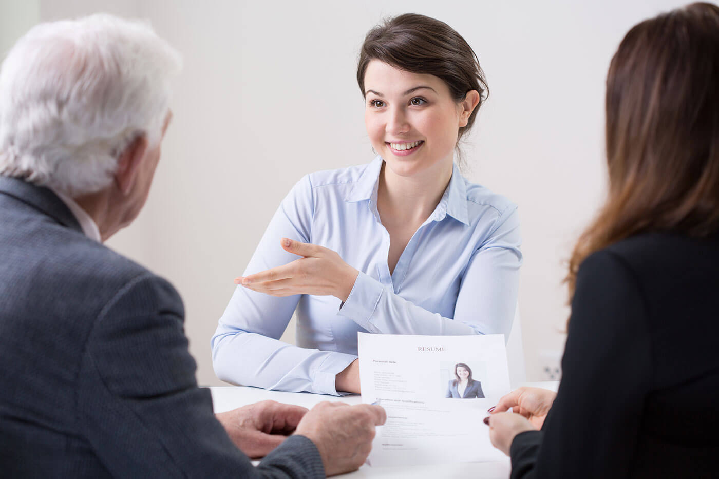 Recent Accounting Graduate Interviewing